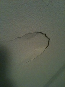 My Head Knocked a Hole in The Wall at My Parents House