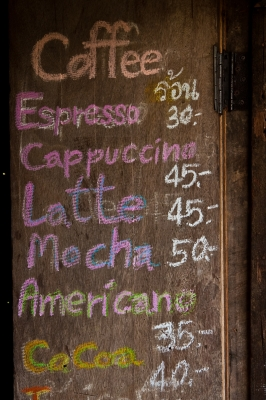 Coffee List