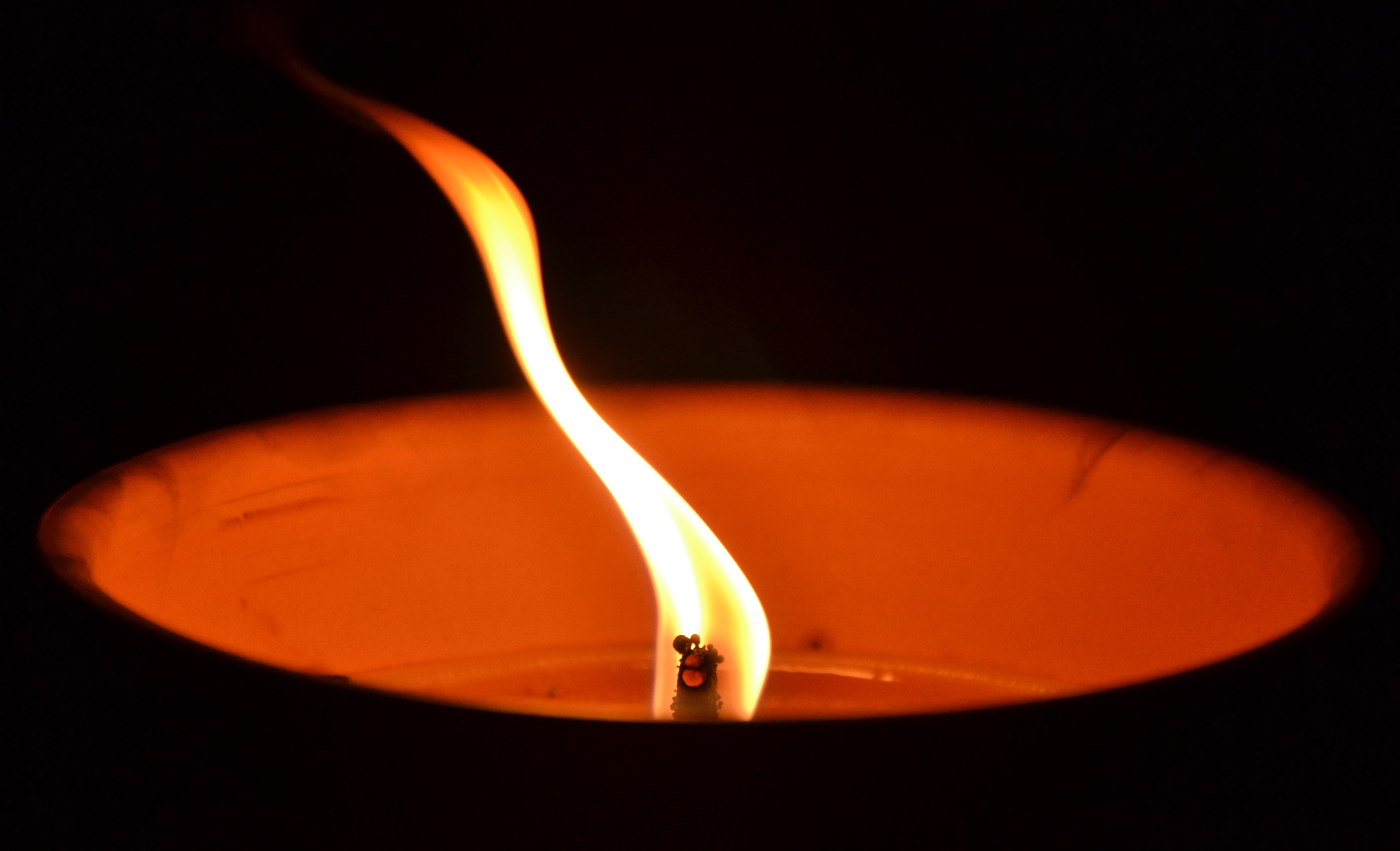 Every moment is like a candle in the wind. I just made that up trying to sound deep.