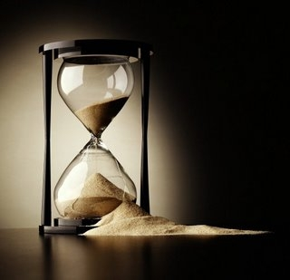 Like sand in an hourglass so are the days of our lives. LOL!