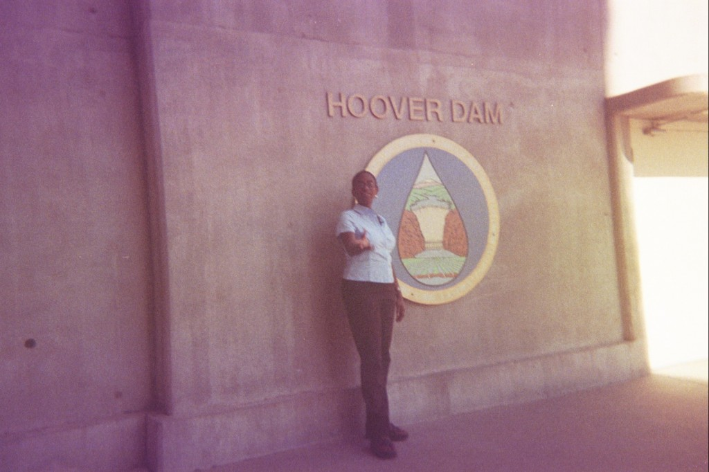 We went to Hoover Dam while we lived in Las Vegas